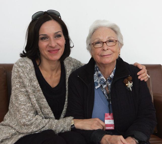 Natalia Millán y Josefina Molina