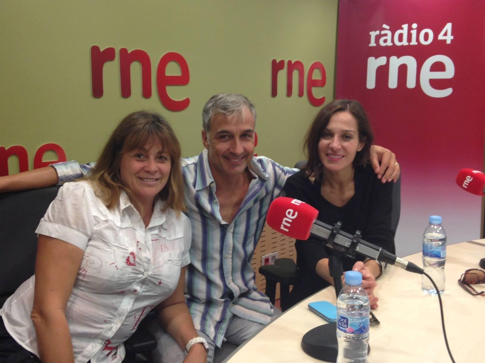 Marta Valverde, Alberto Vázquez y Natalia Millán