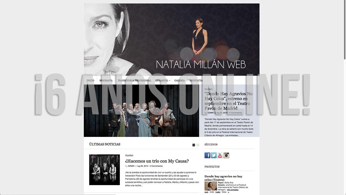 Aniversario Natalia Millán Web