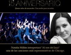 Natalia actuará en la Gala Stage Enterteinment 15 Aniversario