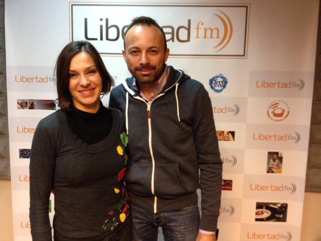 Natalia Millán en Libertad FM