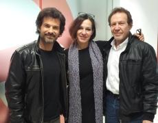 Natalia Millán, Juan Gea y Rodolfo Sancho en 'Las mañanas de RNE'