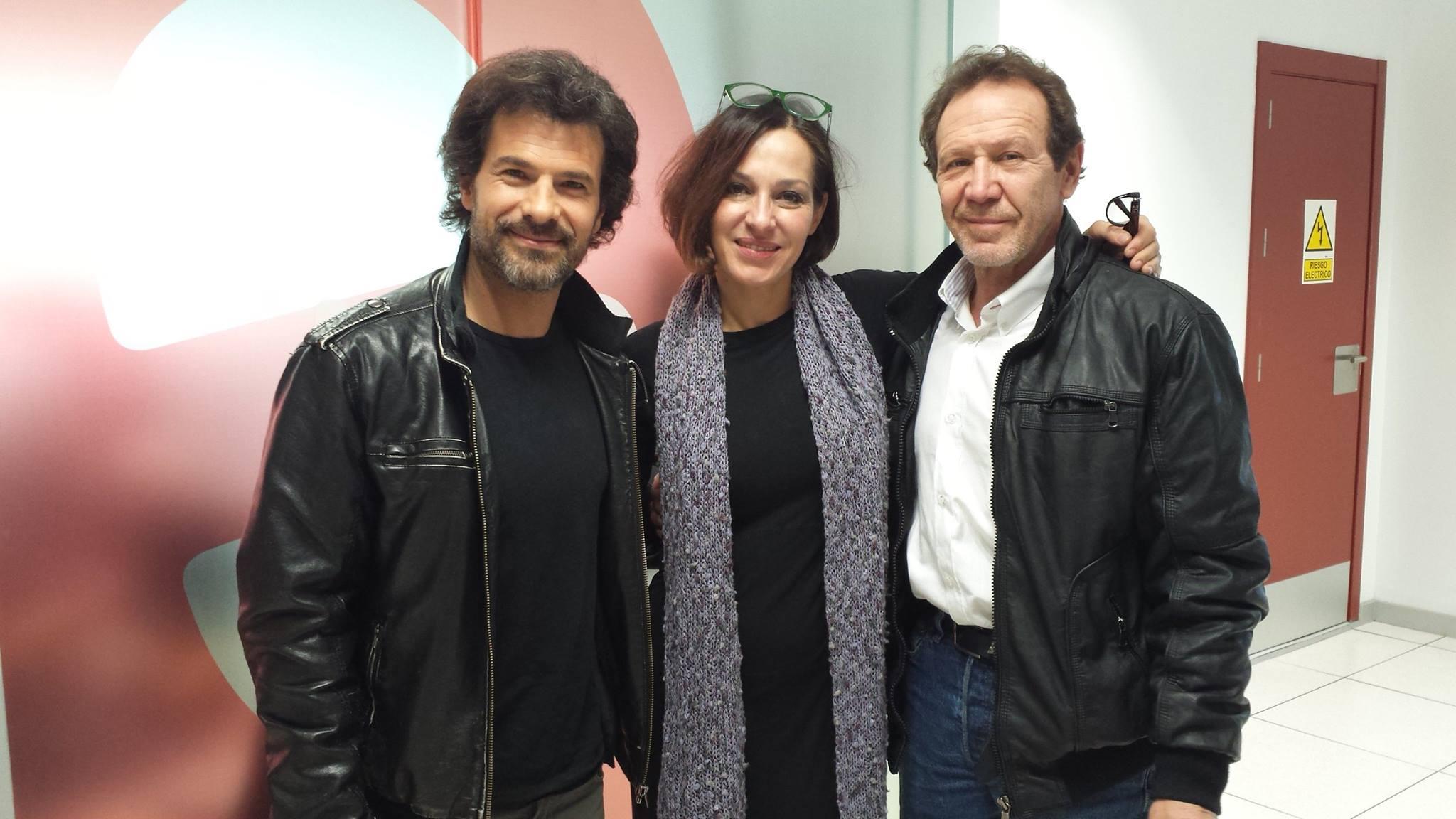 Rodolfo Sancho, Natalia Millán y Juan Gea