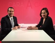 """Natalia en """"Cara a Cara"""" de Navarra TV"""