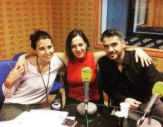 Natalia y Antonio Torres en Cadena Ser